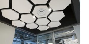 acoustic clouds by Top Surface Building Materials Trading LLC