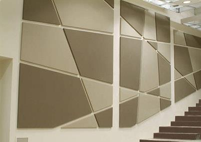 fabric wall panel supplied by Top Surface Building Materials Trading LLC