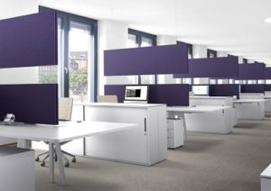 office baffles installed by Top Surface Building Materials Trading LLC