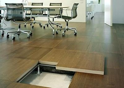 Raised access floor by Top Surface Building Materials Trading LLC