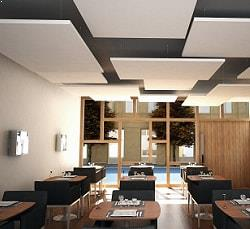 industrial accoustic cloud Top Surface Building Materials Trading LLC