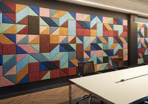 Wall acoustics by Top Surface Building Materials Trading LLC