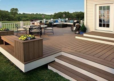 wpc decking by Top Surface Building Materials Trading LLC