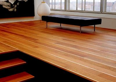 Hard wood flooring by Top Surface Building Materials Trading LLC
